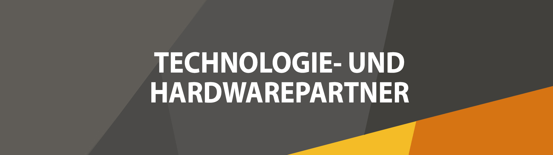 DE - Technology and Hardware Partners