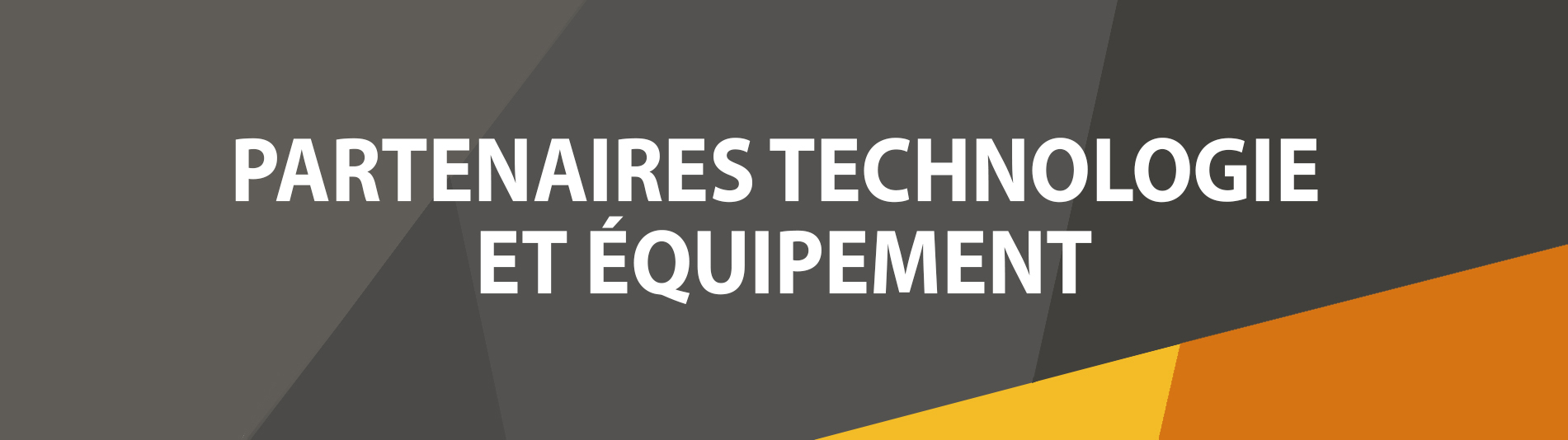 FR - Technology and Hardware Partners